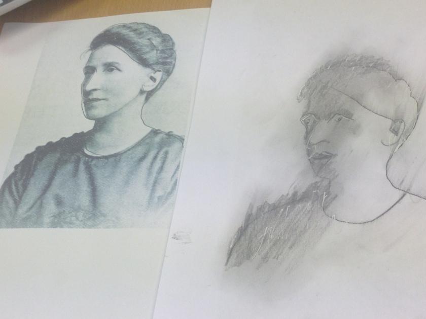 Crystal's drawing