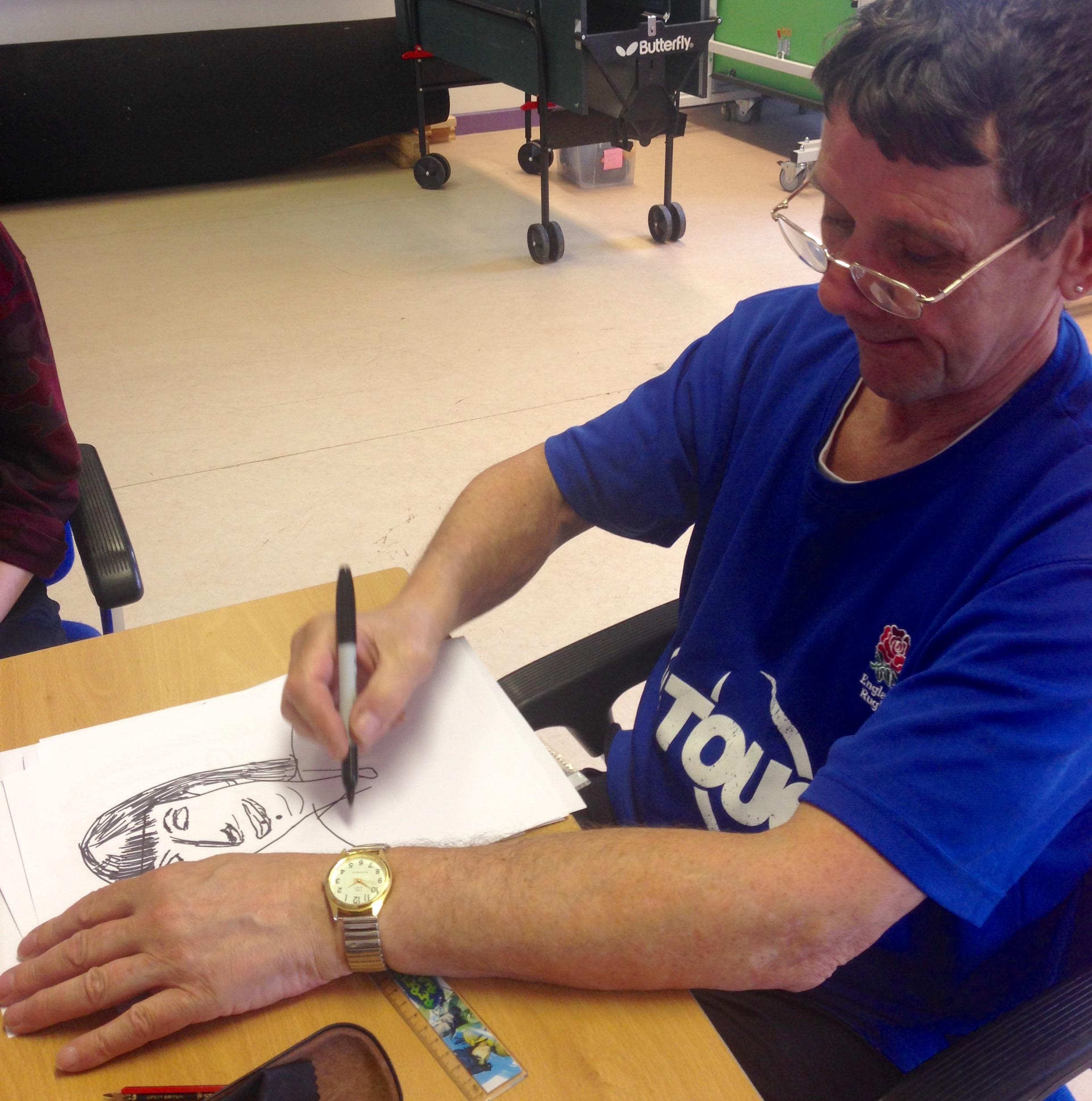 Johno drawing