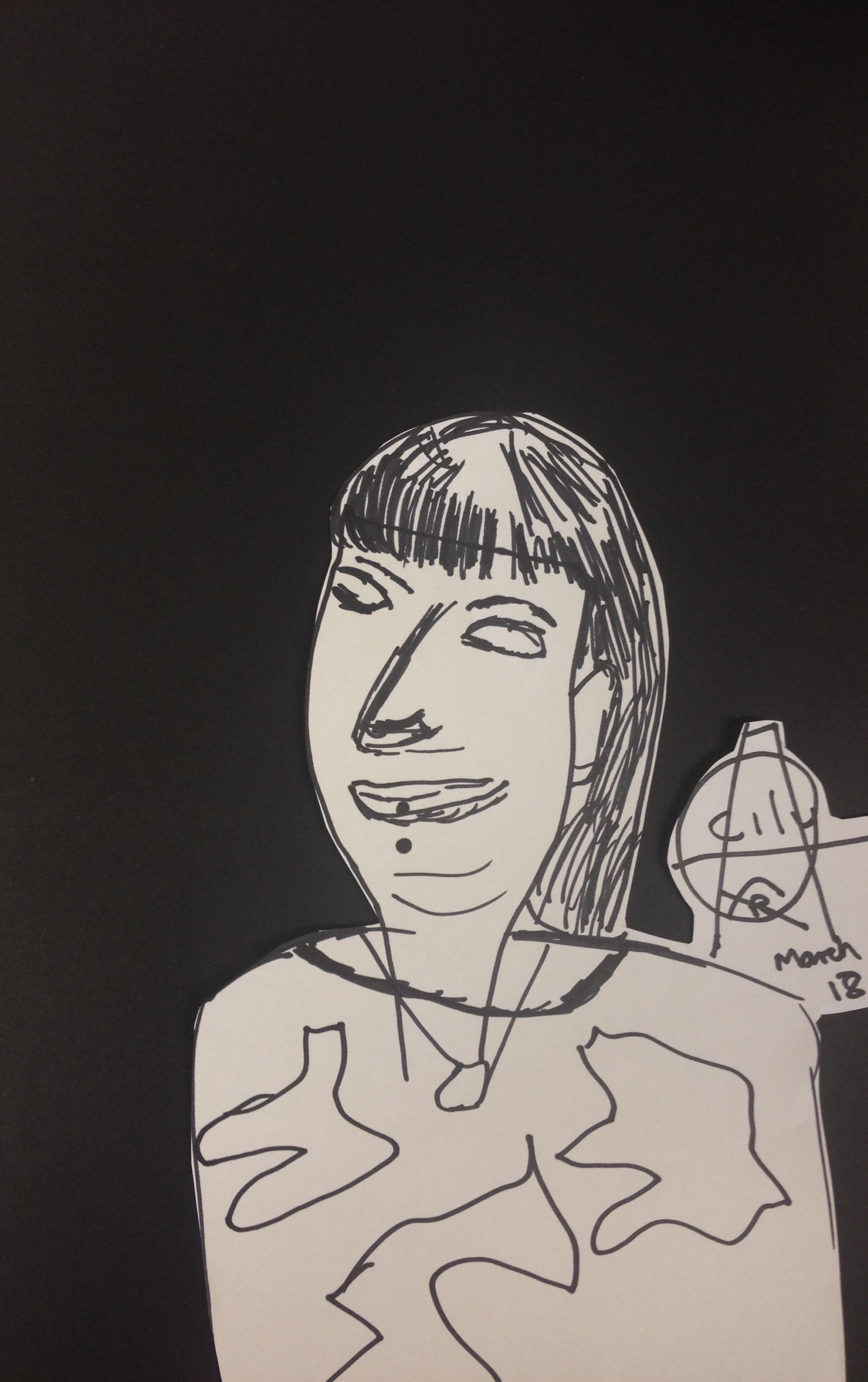Johno's drawing of Bella