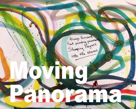 always forward- moving panorama