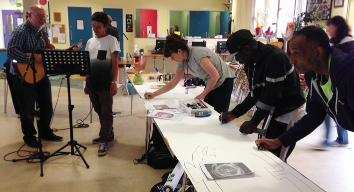 Booth Centre workshop