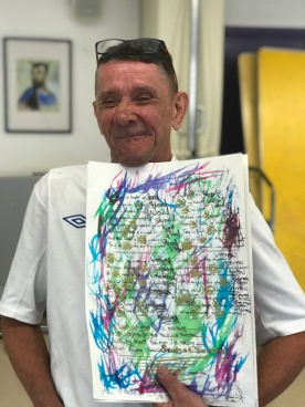Roy and poem:art