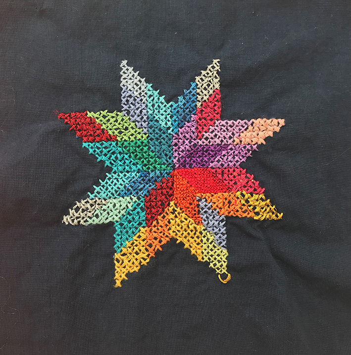 cross stitch star