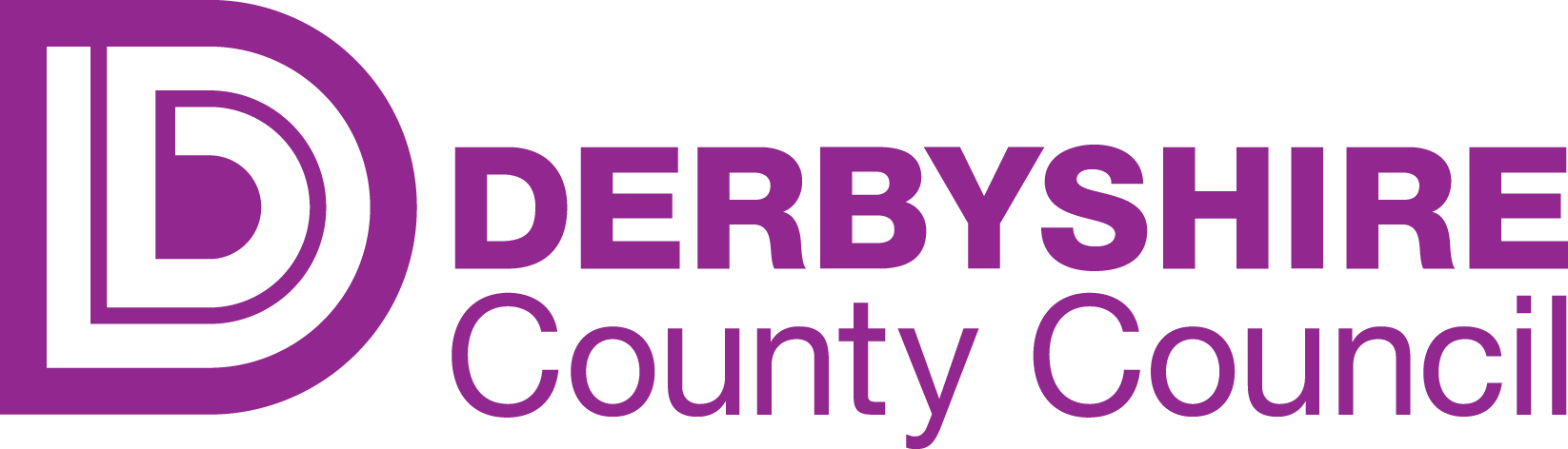 Derbyshire CC Logo no strapline purple