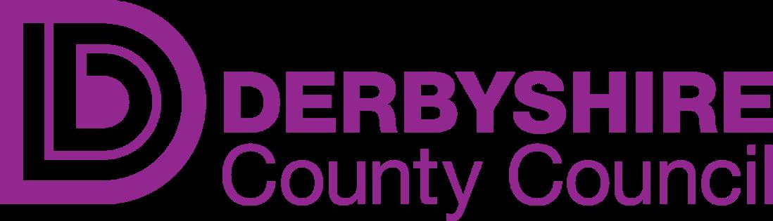 Derbyshire CC Logo no strapline purple